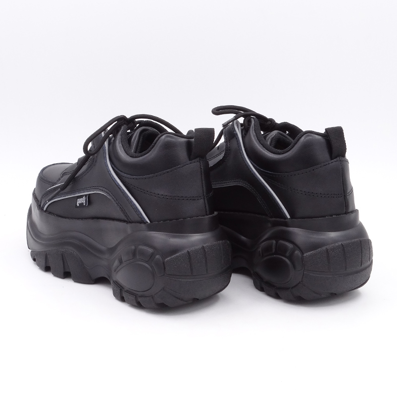 2019 automne chaussures décontractées femmes noir abricot blanc plate-forme chaussures Creepers chaussures plates pour femme chaussure Harajuku Creeper chaussure confortable - 4