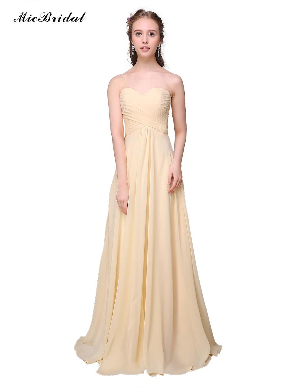 popular light yellow bridesmaid dressesbuy cheap light