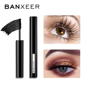 BANXEER Mascara Long Black Lash Eyelash Extension Eye Lashes Brush Makeup Easy to Wear Waterproof Thick Eyes Make Up