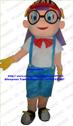 Beautiful Girl Lad Youth Teenager Mascot Costume Cartoon Character With Black Glasses Blue Big Eyes No 4598 Free Sh Character Resin Character Pendantscharacter Pens Aliexpress