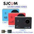 Frete Grátis! Série Original SJCAM SJ4000 SJ4000 & SJ4000 WiFi & SJ4000 Plus Sports Camera + Carregador de Bateria + 1 pcs Bateria Extra