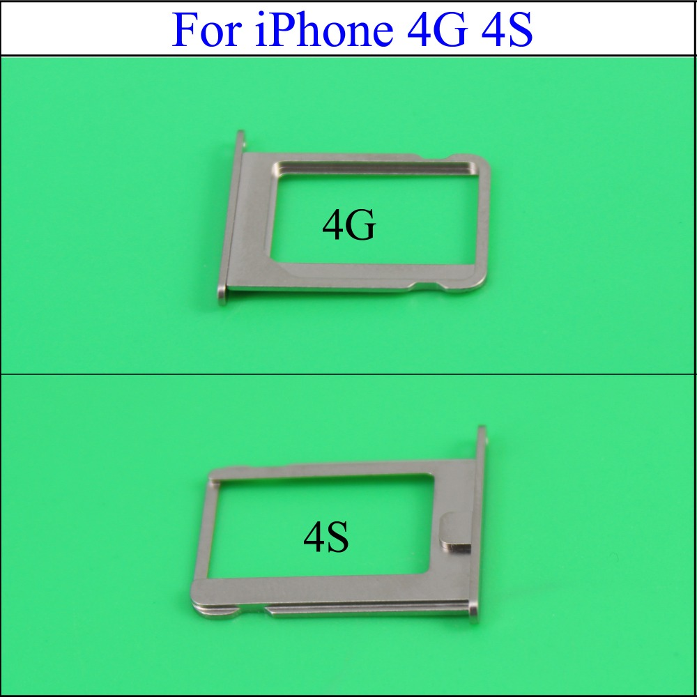 YuXi 1Pcs Micro SIM Card Tray Holder Slot Replacement for Apple for iphone 4 4G 4S 4th Wholesale