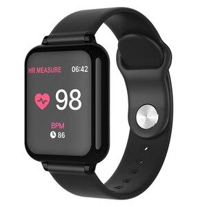 Image 3 - Smart armband fitness aktivität uhr smart armband blutdruck herz rate messung wasserdicht armband big farbe touch