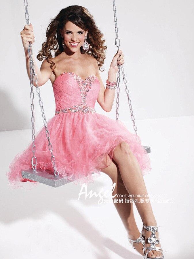 free shipping robe de soiree 2018 new fashion crystal vestido de festa longo short party prom Graduation gown   bridesmaid     dresses