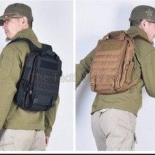 Охотничий 14 ''мужской тактический рюкзак для ноутбука Molle, походный рюкзак, походная сумка на плечо, черная армейская Военная страйкбольная сумка, аксессуары