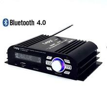Lepy lp-2020usb multimedia hi-fi bluetooth 4.0 clase-t amplificador digital usb sd aux seleccione eq y lcd display