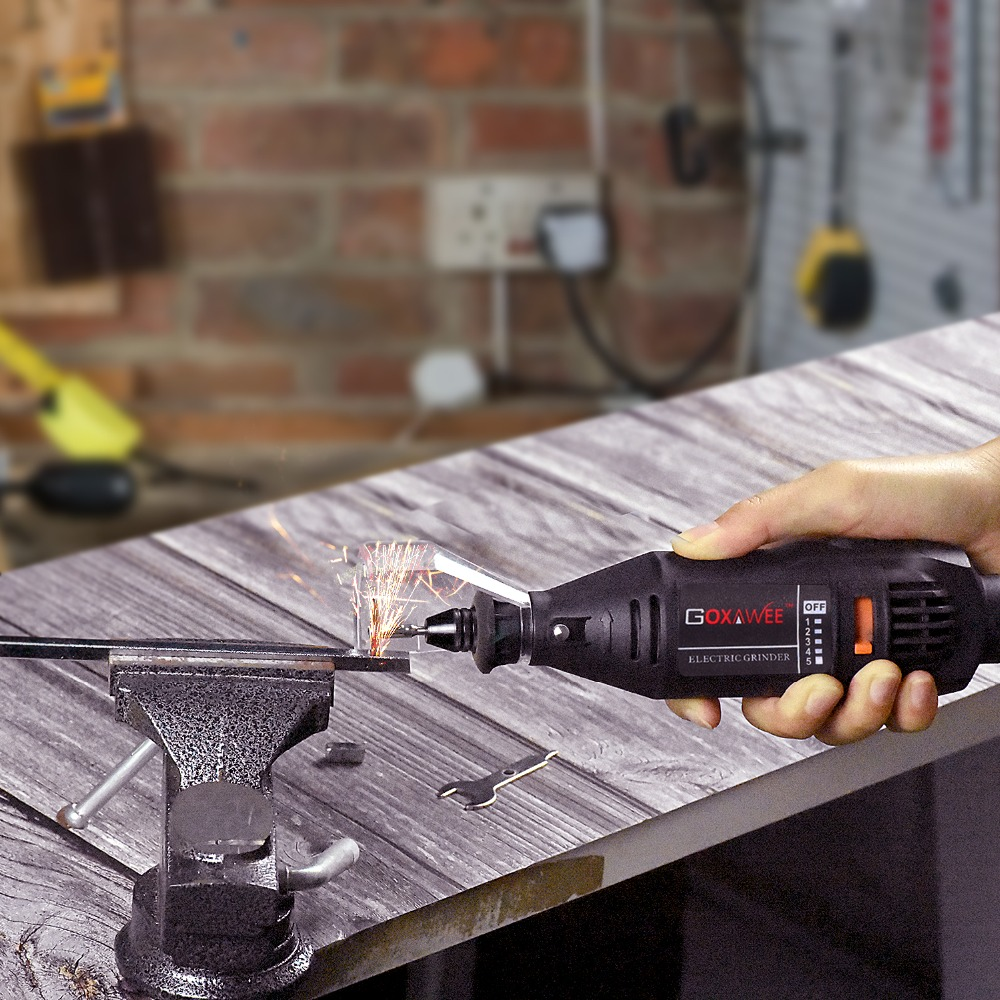 GOXAWEE 220V Electric Mini Drill Dremel Power Tools Electric