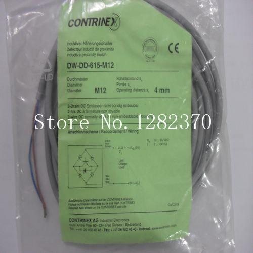 [SA] New original authentic special sales CONTRINEX sensor switch DW-DD-615-M12 spot --2PCS/LOT [sa] new original special sales contrinex sensor switch dw as 514 m12 120 spot 2pcs lot