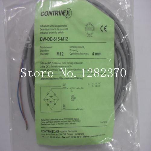 [SA] New original authentic special sales CONTRINEX sensor switch DW-DD-615-M12 spot --2PCS/LOT [sa] genuine original special sales festo solenoid valve cpa10 m1h 5js spot 173450 2pcs lot