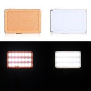 Image 5 - SOKANI X21 LED sur appareil photo lumière vidéo de poche taille écran OLED construire en 1600mAh batterie pour Sony Nikon Canon VS Aputure AL M9