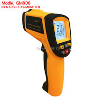2017 Hot Sale GM900 Thermometer Digital IR Laster Infrared Temperature Meter Non Contact LCD Gun Style