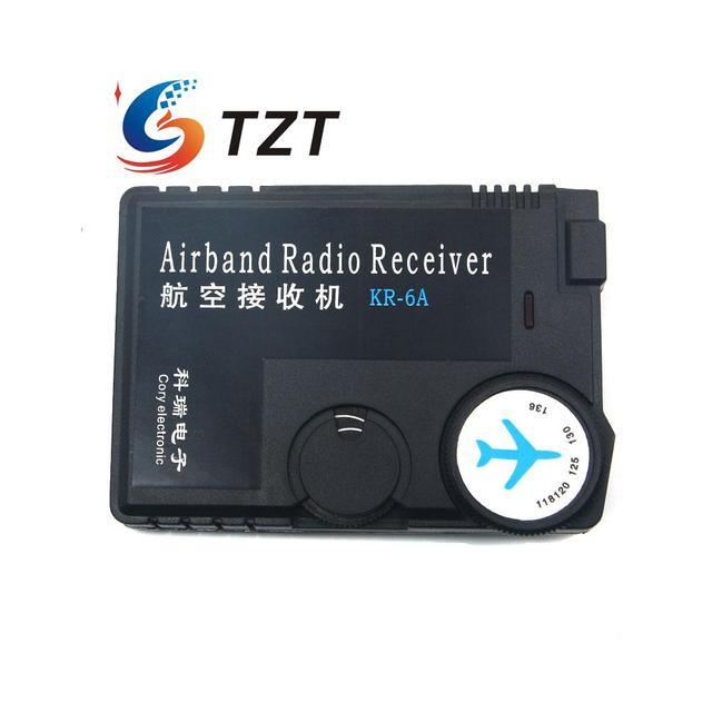 Receptor de Radio de Banda aérea 118 MHz a 136 MHz Receptor de Banda de Tierra Del Aeropuerto de Aviación
