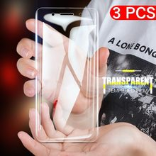 3 teile/los Gehärtetem Glas Screen Protector Für Nokia 6 2018 8 5 2 3 7 Plus X6 1 Lumia 430 520 Explosion Proof Film(China)