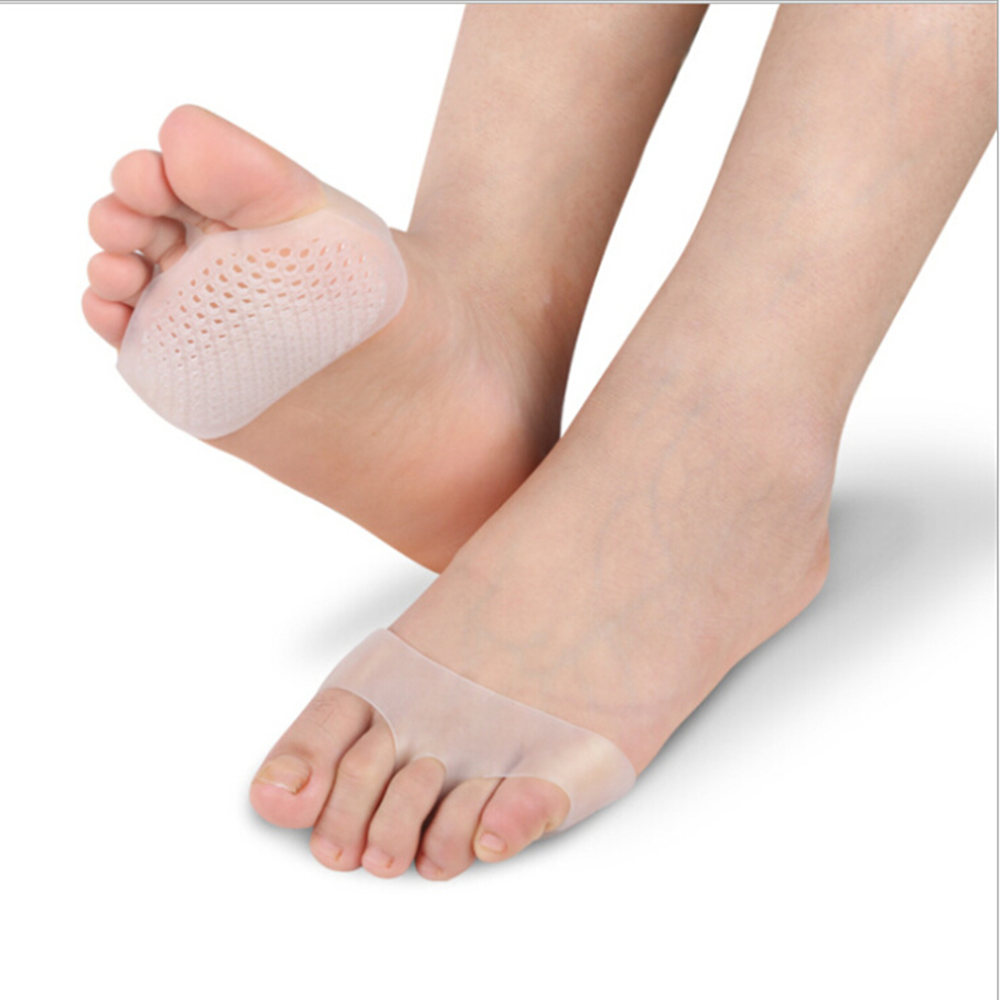 3pairs Foot Care High Heel Pads Toe Separator Silicone Gel Gel Toe