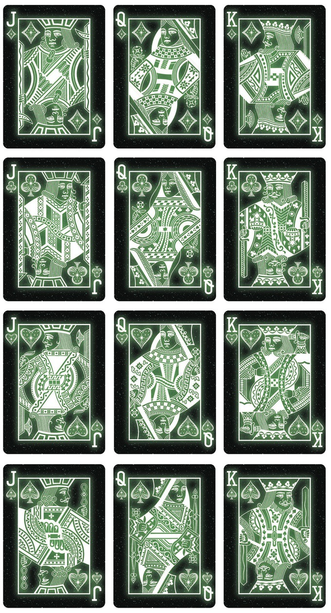 1 set Bicycle Starlight Series Deck Playing Cards Magic Cards ...