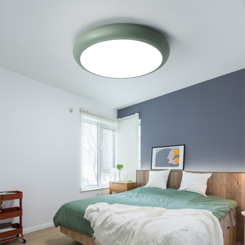 2019 New Style Multicolor Ultra-thin Led Round Ceiling Light Modern Panel Lamp Lighting Fixture Living Room Bedroom Kitchen Back To Search Resultslights & Lighting Remote Contro