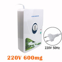 New 1Pcs 600mg H Ozone Generator Ozonator Wheel Timer Air Purifiers Oil Vegetable Meat Fresh Purify