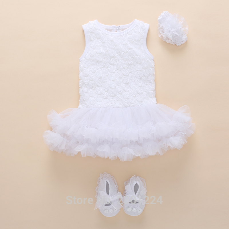 newborn baby girl clothes 0 3 months cotton summer tutu baby girl dress 1 year birthday set baby girls jumpsuit vestido infantil in dresses from mother