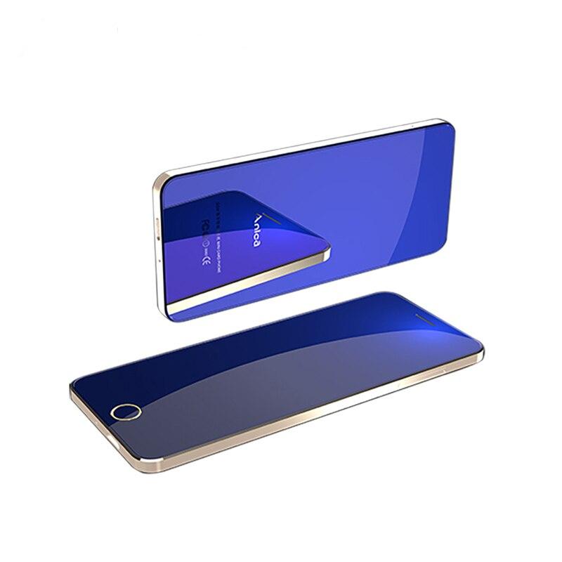 Super Mini Phone Cute Cheap Mobile Phones Unlocked A9+ GSM Phones Quad Bands Bezel-less Dual SIM Touch Control