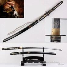 Лидер продаж для Фильм Убить Билла жениха меч катана ручной работы полный тан высокоуглеродистой сталь с гравировкой узор