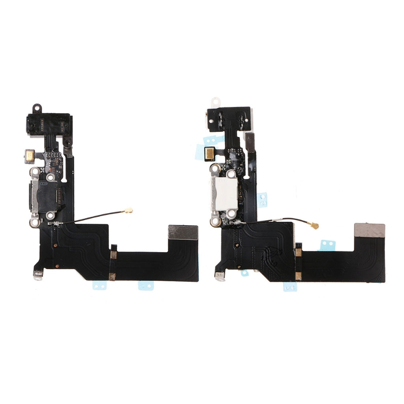 USB Charging Port Connector Micphone Earphone Jack Flex Cable Parts For iPhone 5S(China)