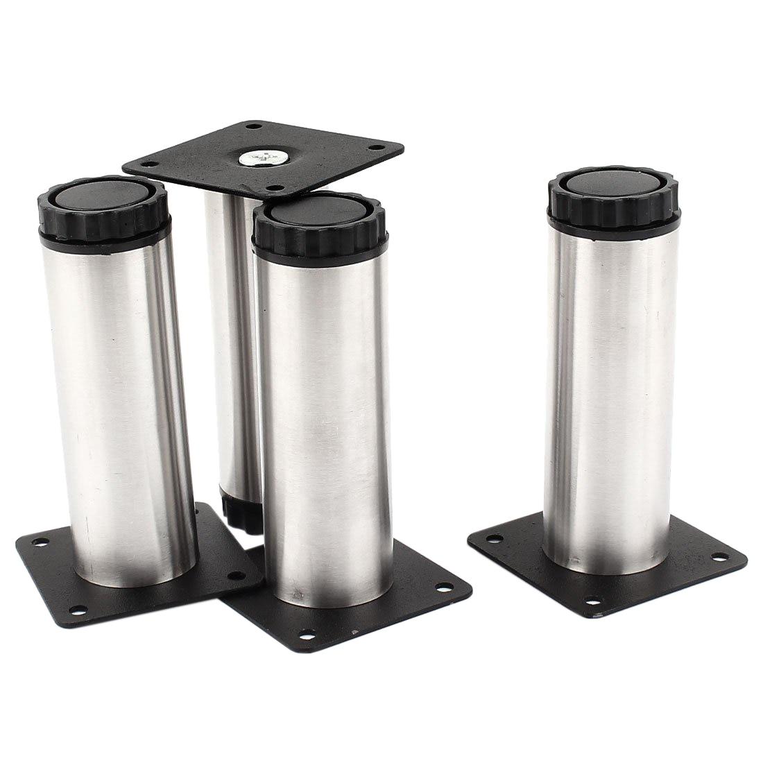 Kitchen Cupboard Cylinder Adjustable Cabinet Legs Plinth 4pcs