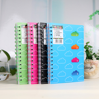 Perfect Manufacturers Selling Cloud Classification Spiral Book Book Wholesale Stationery Notepad Notebook