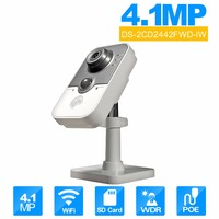 2016 Hik New Mini IP Camera Indoor Security Camera Bulti In WIFI Full HD1080p Video 4MP
