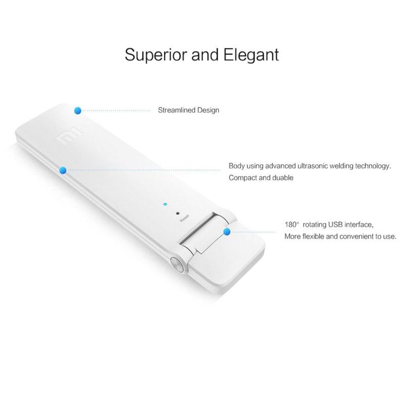 Asli xiaomi wifi mi amplifier 2 nirkabel repeater wi-fi 2 router - Peralatan jaringan - Foto 4