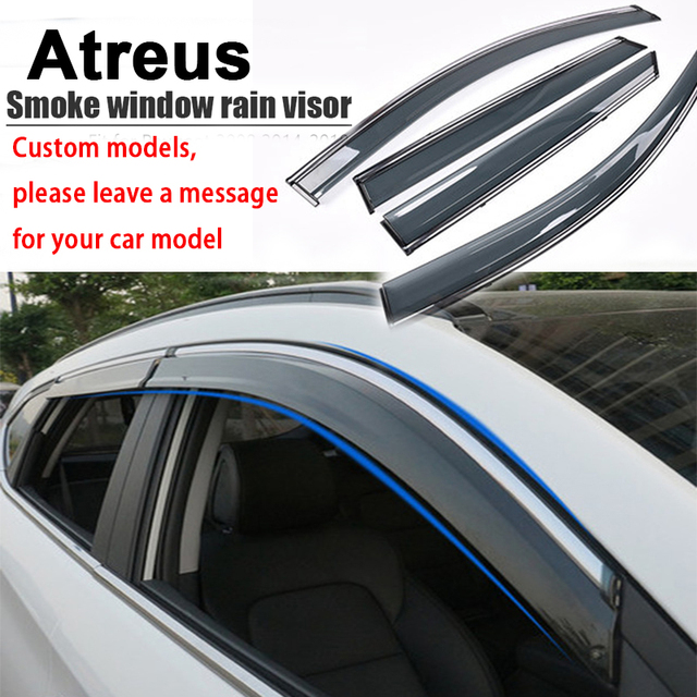 Atreus Custom made Car Window Sun Rain Visor For Bmw Audi Mercedes Ford  Opel Toyota Lada 52ef256e8ac