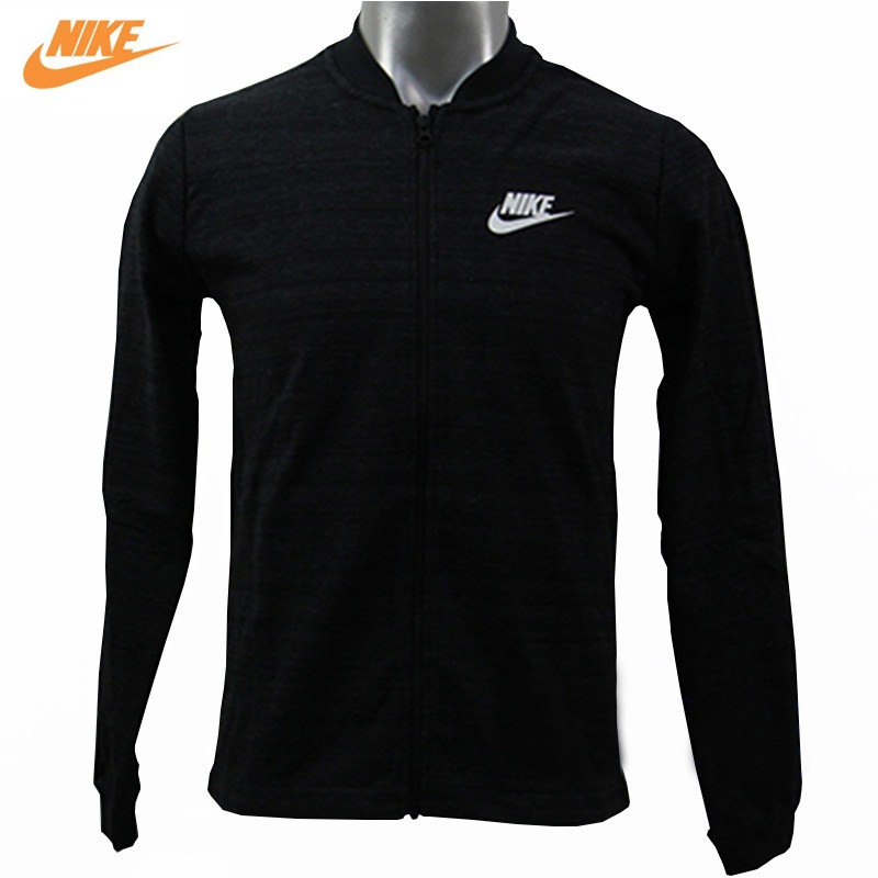 Nike Mens Spring Thin Collar Knitted Sporting Jacket 837009-010 pink perkins collar knitted thin jumper