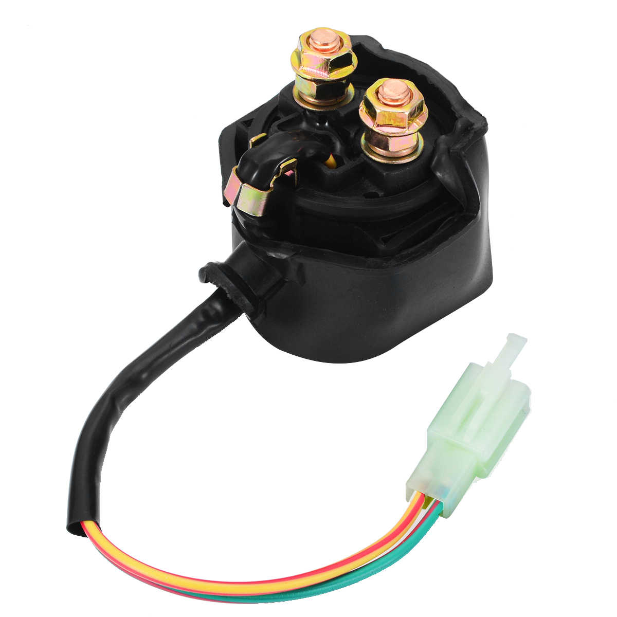 1pc 12V 2pin Starter Relay Solenoid 20W 2 Wires For Chinese GY6 Scooter Moped ATV 50cc 125cc 150cc