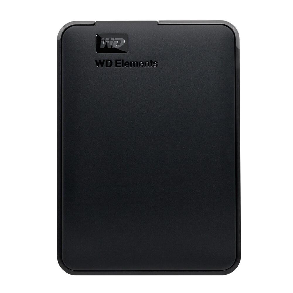 WD Elements Portable Externe hd Disque Dur 2 TB USB 3.0 pour Ordinateur portable Western Digital 2 TB WDBU6Y0020BBK