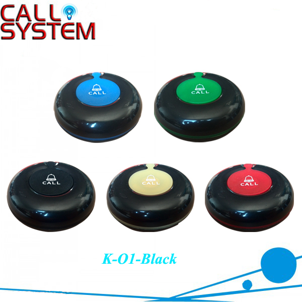 30pcs K-O1 Newest waterproof 1-key transmitter  Electronic table ordering button system 30pcs K-O1 Newest waterproof 1-key transmitter  Electronic table ordering button system