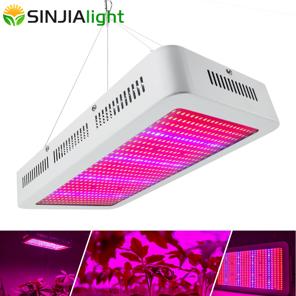 600W LED Grow Light Full Spectrum Hydroponics Panel Plant Growth Lamps for Flowers lighting Seedlings Vegs grow tent greenhouse 2016 new led grow panel 165w led grow light 1131red 234blue led plant lamp for flowers grow box tent greenhouse grows lighting