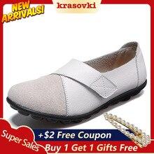 Krasovki Single Shoes Women Large Size Fashion Dropshipping Casual Shoe Low Top Comfortable Kook Loop Slip on Bean