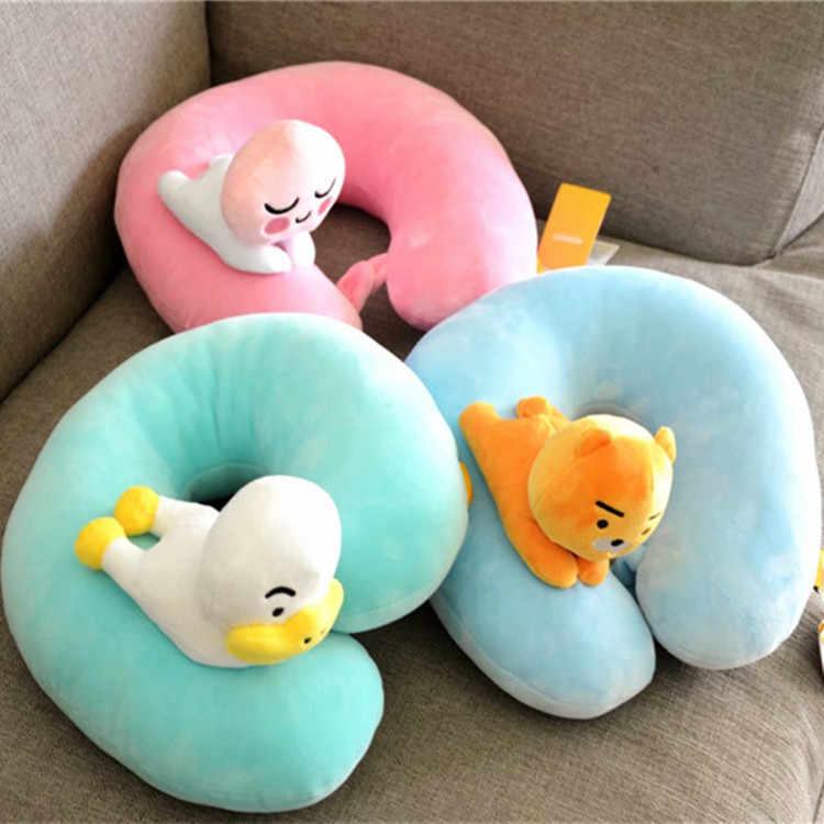 JaneYU przyjaciół zabawy prezenty, pluszowe lalki, elastyczne w dół bawełna poduszka na szyję, biura poduszka podróży U poduszka