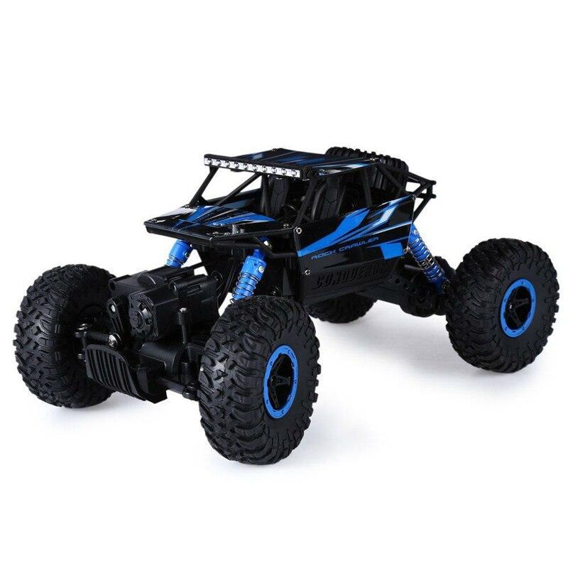 Hot <font><b>RC</b></font> Car 2.4G 4CH 4WD Rock Crawlers 4&#215;4 Driving Car Double Motors Drive Bigfoot Cars Remote Control <font><b>Model</b></font> Off-Road Vehicle Toy