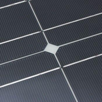 Hot Sale 100w 200w flexible solar panel 18V for 12V solar battery charger monocrystalline solar cell panel solar home system kit 3