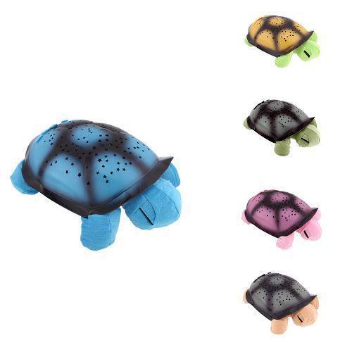 Ayuda del sueño ligero tortuga W/4 Canciones y Cable USB lámpara de la estrella para el regalo de Los Niños cómodos iluminación del dormitorio del bebé juguete 2b