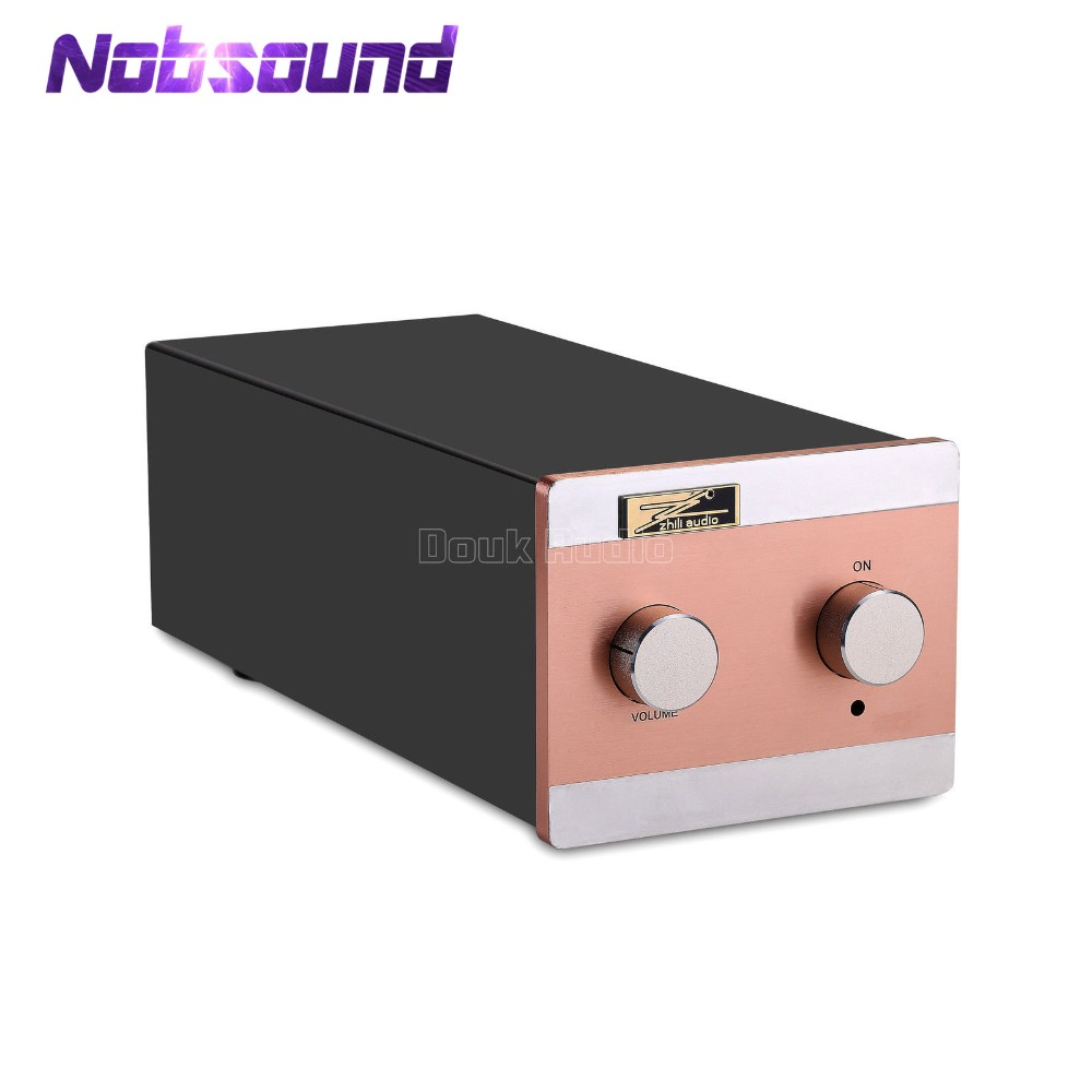 Nobsound EAR834 MM (Aimant Mobile)/MC (Bobine Mobile) RIAA JJ 12AX7 Tube Phono Platine Préampli HiFi Stéréo Pré-amplificateur