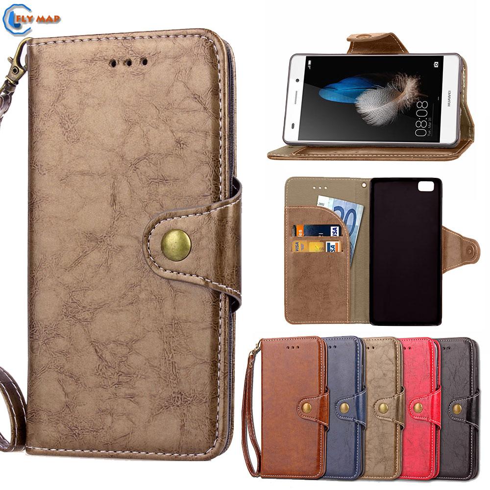 Case For Huawei P8 Lite P8Lite ALE-L21 ALE-L23 ALE-L02 Flip Phone PU Leather Box Cover For Huawei P 8 Lite ALE L21 L23 L02 Coque ...