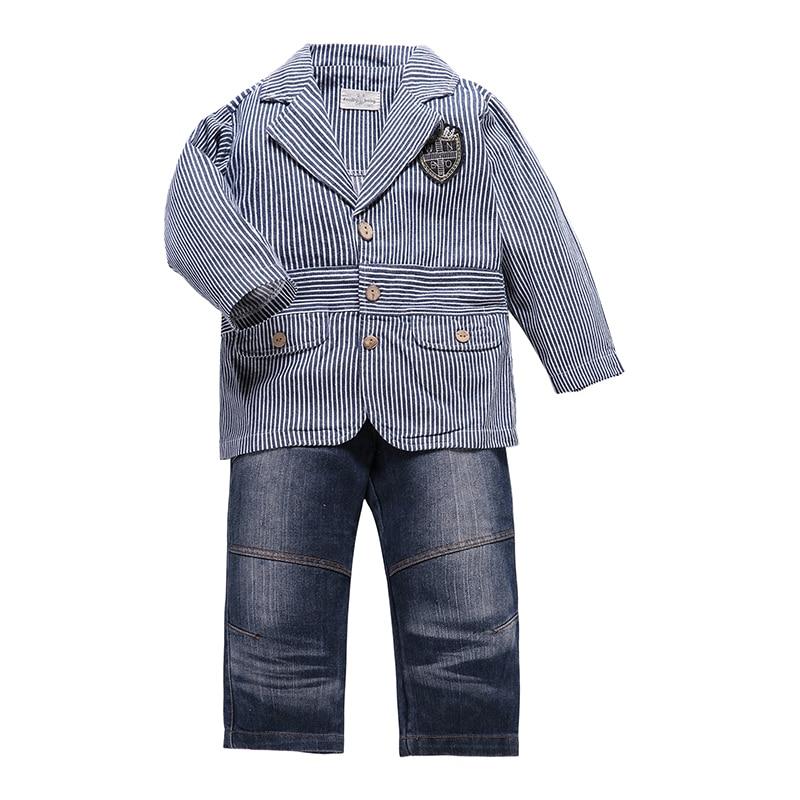 Unito Sogni Bambini 2 Pezzi Vestiti Dei Capretti Ragazzi Insieme Dei Vestiti Blu Scuro Giacca Di Velluto A Coste Pantaloni Cappotto Ragazzo Matrimoni Gentleman Bambini Costume