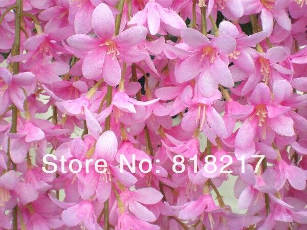 24 stems 65 cm lifelike wild flowers garlands hanging flower