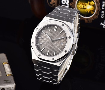 Watch mens movement clock automatic luxury sapphire crystal stainless steel bracelet case H335