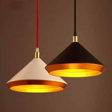 где купить Nordic Style Loft Pendant Lamp Simple Dinning Room Lights Coffee Shop Metal E27 220v For Decor Led Pendant Light по лучшей цене