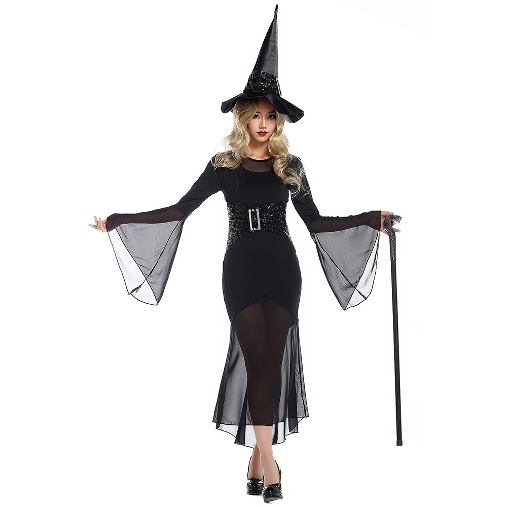 Popular Gothic Witch Costumes-Buy Cheap Gothic Witch Costumes lots ...