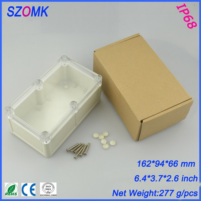 instrument box enclosure for pcb and switch waterproof outlet  box High Quality ABS Plastic Junction Box IP68 Waterproof case high tech and fashion electric product shell plastic mold