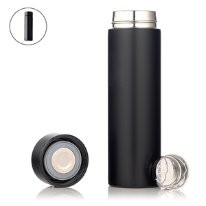 Colleer Deluxe Double Wall Vacuum Flask Insulated Stainless Steel Thermal Cup 500ml Water Tea Coffee Mug Travel Thermos Bottle