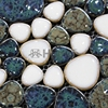 Shipping Free Mixed Color Ceramic Mosaic Tiles Pebble Design Swimming Pool Tiles Bathroom Floor HME7008 11